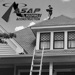 inspection the roof of a home for damage